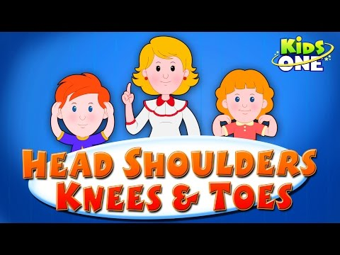 Head, Shoulders, Knees & Toes | Nursery Rhyme Exercise Song For Kids
