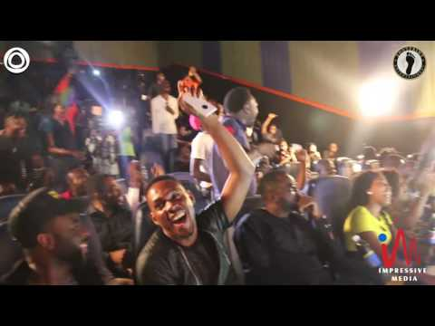 Seriki thrills the fans with his rhymes @ Kenny Blaq's Fans Hangout II (Nigerian Comedy)