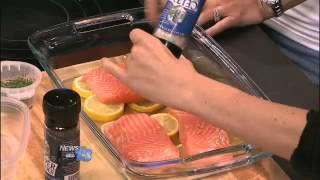 by Selina Naturally, Chef: Carla Delangre Ingredients 3 lemons 1/4 Cup fresh dill Celtic Sea Salt and pepper Coconut oil 1 pound wild caught Coho Salmon fillet ...