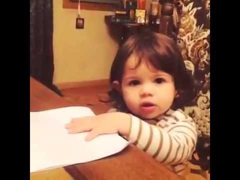 ძაან საყვარელი ბავშვი ♥(ვიდეო)