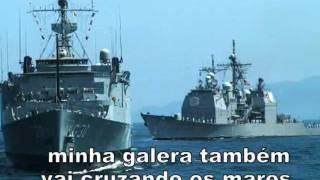 Canção Cisne Branco,o hino mais bonito da armada Brasileira Brasil Acima de Tudo!!