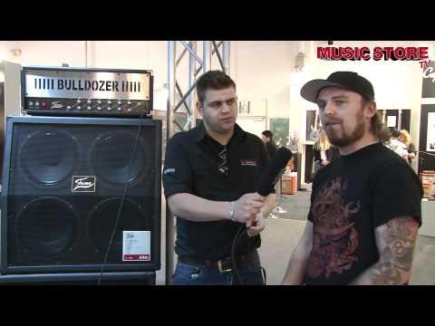 FAME Bulldozer Gitarren Topteil Verstärker - Musikmesse 2012