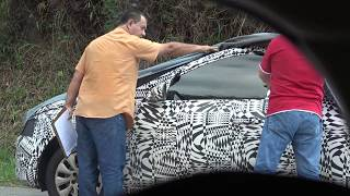 mostramos o pequeno vídeo que fizemos flagrando os novos Polo e Golf Facelift que estrearão em Breve no Brasil.