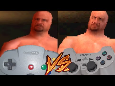 Nintendo 64 Vs PlayStation - WWF Warzone