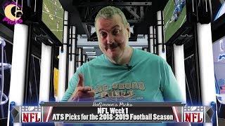 NFL Week 1 ATS Picks for the 2018-2019 Football Season