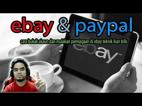 Cara buka akaun Ebay dan Paypal 2019 Teknik Ikan Bilis