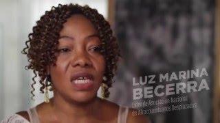 La voz de Luz Marina Becerra.