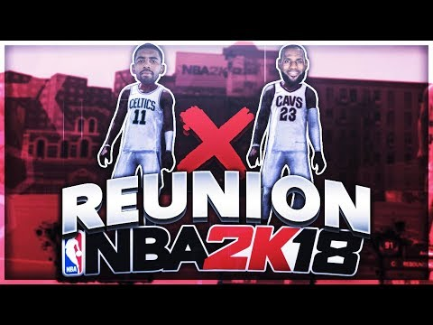 *NEVER SEEN* KYRIE & LEBRON REUNITE AT THE PARK! THE DYNAMIC DUO IS BACK! NBA 2K18 MYPARK