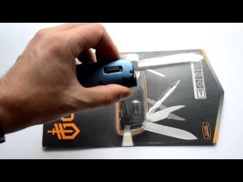 Відеоогляд мультитула Gerber Fit Light Tool Blue