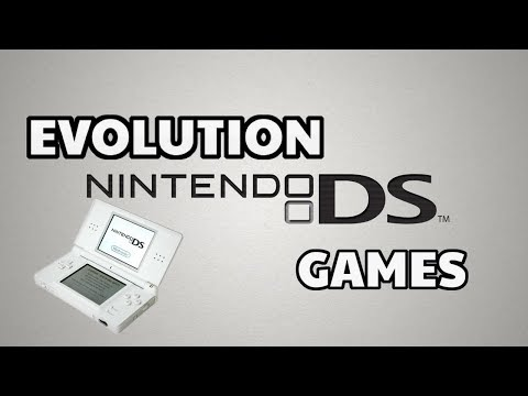 Evolution Of Nintendo DS Games 2004-2012