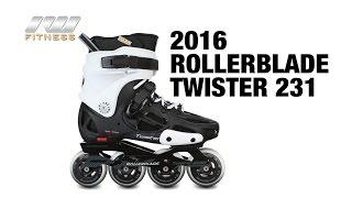 Відео огляд фріскейт роликів Rollerblade twister 231 2016 (англ.)