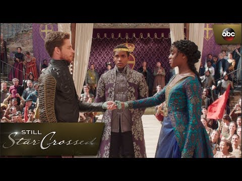 Rosaline and Benvolio's Betroyal Ceremony Interrupted - Still Star-Crossed 1x3