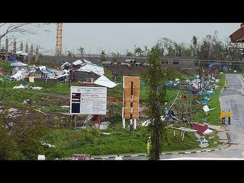 Φονικός κυκλώνας σάρωσε τα νησιά Φίτζι