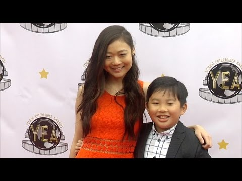 Krista Marie Yu & Albert Tsai 2016 Young Entertainer Awards #DrKen