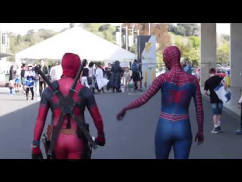 Spidey-Pool at Armageddon Auckland 2016 - Day 3