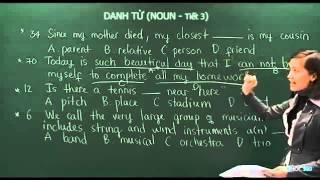 Bài 5: Danh từ - Tiết 3