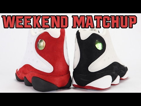 Air Jordan 13 Chicago vs Air Jordan 13 He Got Game | Weekend Matchup