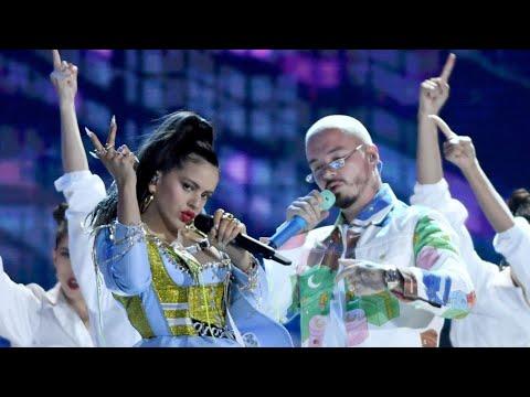 J Balvin, Rosalía, Sean Paul - Con Altura/Contra La Pared (Billboard Latin Awards) ft. El Guincho