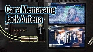 Video How to install a TV antenna jack || Clear picture MP3, 3GP, MP4, WEBM, AVI, FLV Desember 2018