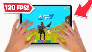 *NEW* 120 FPS on iPad Fortnite! (BETTER THAN CONSOLE?) by Ali-A