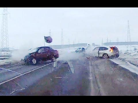 Жесткие аварии за весь Февраль 2016