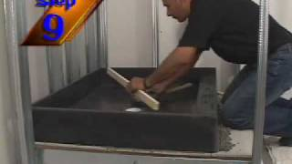 Tile Ready® Shower Bases and Shower Pans Installation Video 2009