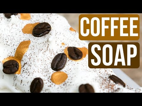 Soap Made with REAL Coffee - Coffee Haus Soap  | Royalty Soaps