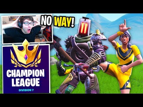 I Got In CHAMPION LEAGUE And DESTROYED With My NEW WORLD CUP PARTNER! (Fortnite Arena)