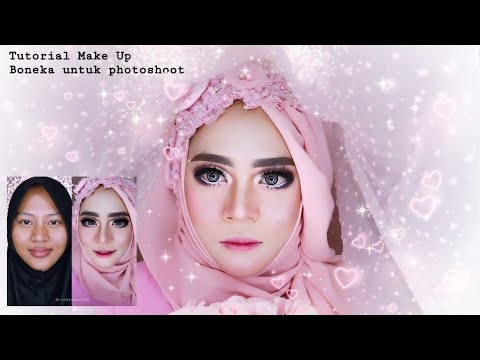 Tutorial Makeup Boneka untuk Photoshoot