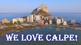 Calpe Spain  City new picture : SPAIN - GO TO CALPE! / КАЛЬПЕ
