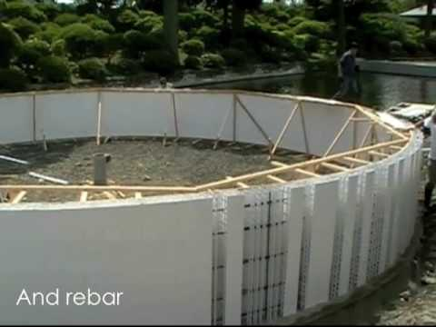 Building Tanks for Aquaculture – Form and Protect Concrete in One Step!
