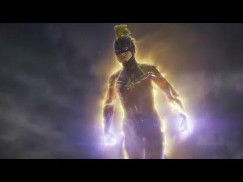 """Captain Marvel - Fight/Power & Flight Compilation (+ """"Avengers: Endgame"""") [HD]"""