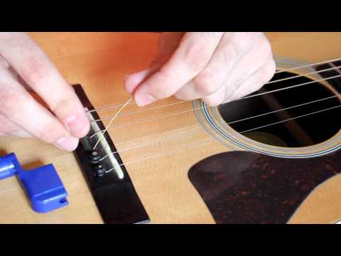 Video How to Change an Acoustic Guitar String, EASY! download in MP3, 3GP, MP4, WEBM, AVI, FLV January 2017
