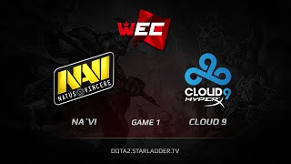 Cloud9 vs Na'Vi, game 1