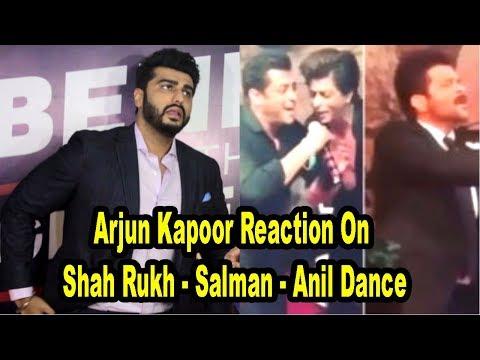 Arjun Kapoor Reaction On Shah Rukh- Salman -Anil Kapoor Dance | Sonam Kapoor's Wedding |