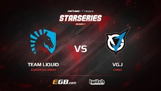 Team Liquid vs VG.J, Game 2, Grand-Final, SL i-League StarSeries Season 3, LAN-Final