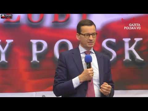 Morawiecki straszy opozycją i strasznymi wrogami Polski