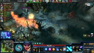 Invasion vs NXL, game 1