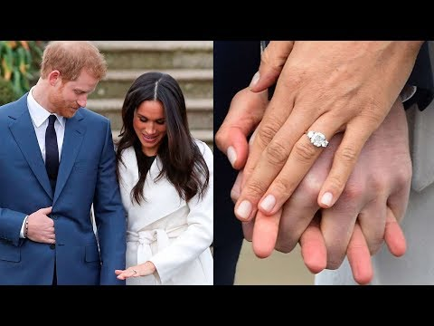 See Meghan Markle's Three-Stone Engagement Ring From Every Angle: Prince Harry Engaged Meghan Markle