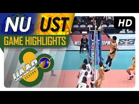 Uaap 80 Mv Semifinals Nu Vs Ust Game Highlights April 22 2018