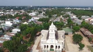 Nhà thờ giáo họ Giuse  ngày 20-04-2017 đã hoàn thành 80% tiến độ thi công, đang trong giai đoạn hoàn thiện