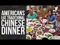 foto Traditional Chinese Meal Cooked for Group of Americans Borwap
