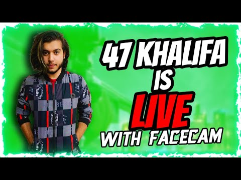 KHALIFA  is live With Face cam   chill stream + QnA session featuring aii taaa!!!