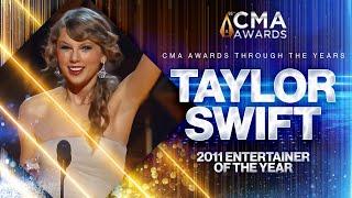 Taylor Swift: 2011 CMA Entertainer of the Year | CMA Awards | CMA