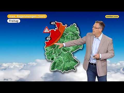 Вие вирд дас Веттер Дие актаелле веттер.ком 3-Тагес-Ворхерсаге (06.09.2017)