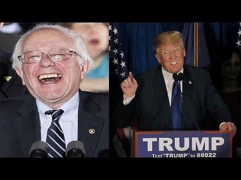 Νίκη Σάντερς και Τραμπ στο Νιου Χαμσάιρ – Επόμενοι σταθμοί Νεβάδα και Νότια Καρολίνα