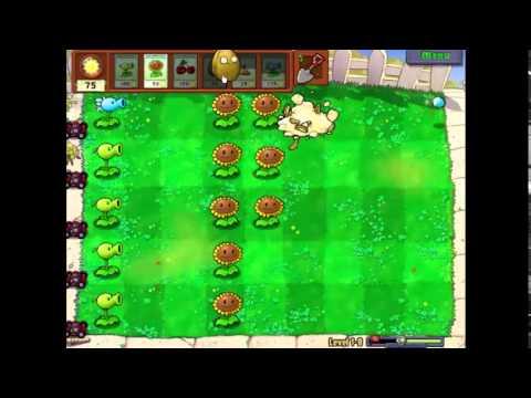 Plants Vs Zombies Lv1-8