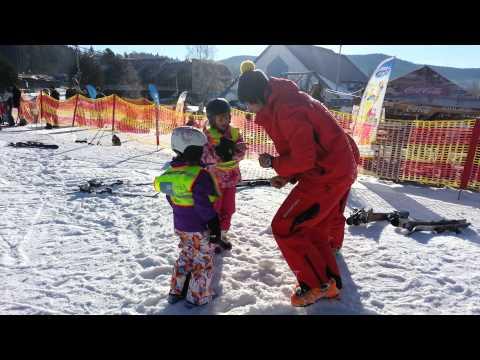 Rozcvička pre najmenších lyžiarov - ©Lipno TV