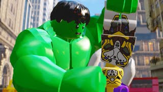Lego Marvels Avengers Part 6 The Avengers Movie Walkthough THE END Earths Mightiest