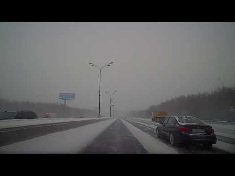 ДТП в Москве на МКАД